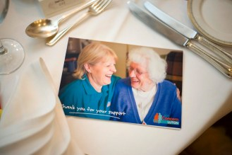 Age Concern Luton leaflet at Legends of Sport Charity Event