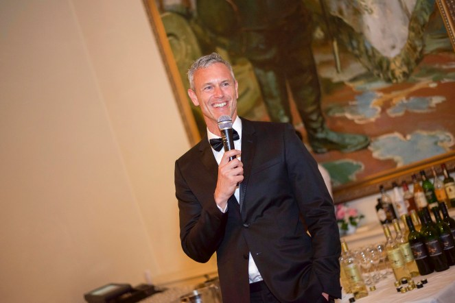 Olympic Swimmer Mark Foster at the Legends of Sport Charity Event in aid Age Concern