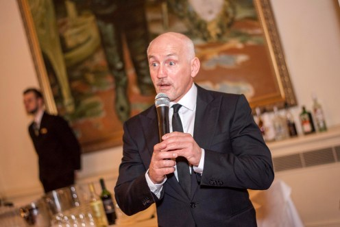 Former boxing champion Barry McGuigan at the Legends of Sport Charity Event in aid Age Concern