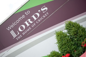 Lords Cricket Grounds entrance sign