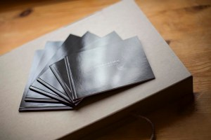Small black wedding album duplicates