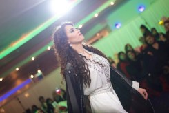 Fashion catwalk at a charity event in Luton