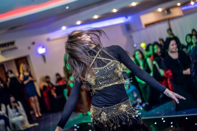 Bellydancer performance charity event Luton