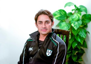 Saeed Ajmal International Cricketer portrait